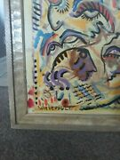Lowest Price You Will Find William Verdultandldquo Mask Face Original Oil On Board Pain