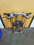 12-17 Ducati Panigale 1199s 1299s Ohlins Front End Forks Tubes Trees Controls