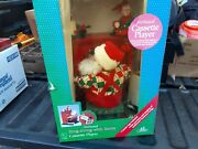 Animated Sing-along W/ Santa Cassette Player  Holiday Creations 1993