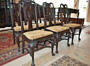 Antique Dining Room Chairs, Set Of 6 Royal Furniture Co