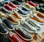 High Quality Genuine Custome Made Alligator Leather Sneekers Uk34-46 Read Descr.