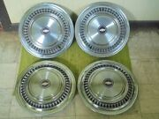 75-88 Chevrolet Truck 16 Hubcaps C20 Set Of 4 Wheel Covers Chevy 3/4 Ton