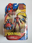 Spider-man Super Heroes Spiderman W/ Snap-on Scuba Gear Figure Rare Wrong Name