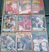 Pete Rose Sports Illustrated Collection 9 Si Magazines All Are Vgc Or Better