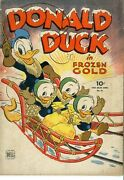 Four Color  62  Vg  Donald Duck In Frozen Gold  January 1945