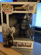 Funko Pop Forbidden Planet Robby The Robot 89 Rare And Vaulted W/pop Protec{fpb7}