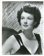Ruth Hussey - Inscribed Photograph Signed