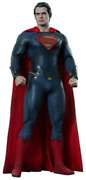 Hot Toys Movie Masterpiece Man Of Steel Superman 1/6 Action Figure From Japan