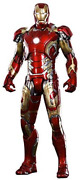 Hot Toys Movie Masterpiece Diecast Iron Man Mark 43 Xliii 1/6 Action Figure New