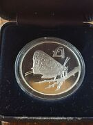 Cyprus Silver Andpound1 Cyprus Butterfly 2002 Rare 2000 Pcs Mintage