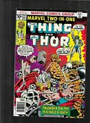 Marvel Two-in-one 22 1977 Signed Ron Wilson Fine Thing Thor Mid-ohio Con
