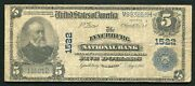 1902 5 The Lynchburg National Bank Virginia National Currency Ch. 1522
