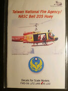 1/35 Fireball Modelworks Decals Fmd-06 Taiwan National Fire Agency Bell 205 Huey
