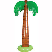 6 Inflatable Party Decorations Palm Tree Theme