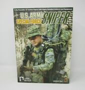 U.s. Army Sniper Special Force Sideshow Hot Toys 16 Scale Mib
