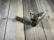 Vintage Antique Bike Bicycle Light With Glass Lens Old Motorcycle Used Untested