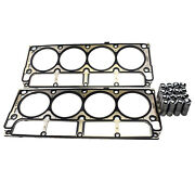 For Cadillac Cts Chevrolet 16pcs Hydraulic Lifters And 2pcs Cylinder Head Gaskets