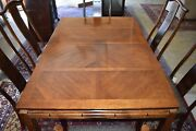 Bernhardt Dining Room Set Table And 6 Chairs