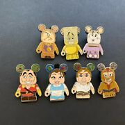 Vinylmation Collectors Set - Beauty And The Beast - 7 Pins - Disney Pin 99154