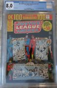 Dc 100 Pages Super Spectacular 17 Justice League Of America Cgc 8.0 Dc 1973