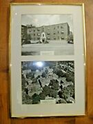 Vintage 2 Photo Pittsburgh Pa - Framed - Negley Ave Apartments - Highland Park