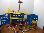 Disney Jake And The Neverland Pirates Mighty Colossus Rolling Ship With Figures