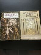 The Elric Saga Parts 1 And 2 1984 Hardcover Sfbc Editions Michael Moorcock