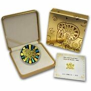 2003 Canada 150 Hologram Year Of Sheep Proof 18k Gold Coin W/ Sealed Box Coa