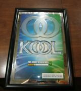 Kool Cigarette 2003 Mirror Advertising Sign For Man Cave, Bar Sign, Store Sign