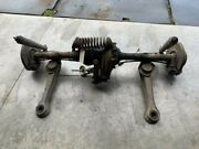 1970 Mercedes Benz 280 Se Rear Suspension Differential Brakes Calipers Shocks