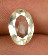 Oval 3.90 Ct/11 Mm Yellow Heliodor Beryl Gemstone 100 Natural Certified Z1919