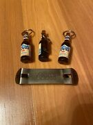 Coors Banquet Bottle Opener Beer Bottle Keychain Set Of 3 And A Churchkey