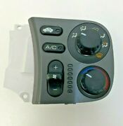 Oem Hs447 New A/c And Heater Control Switch Honda S2000 2000-2001