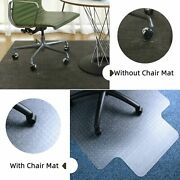 Mat Pvc Home Office Carpet Hard Protector Desk Floor Chair Tranparent With Nail