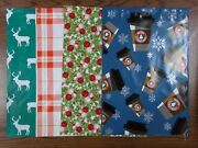100 10x13 Christmas Pumpkin Deer Candy Cane Mailers Poly Shipping Envelope Holly
