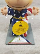 Westland Giftware Charlie Brown Around Town Let Freedom Ring Peanuts 8438
