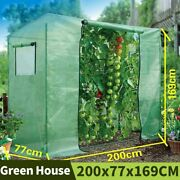 Greenhouse Garden Shed Green House Outdoor Plant Cover For Home Gardening Tools