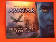 """James Cameron's Avatar On Blu-ray And Dvd April 22 - 3d Changing Pix Card 4"""" X 3"""""""