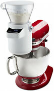 Kitchenaid Sifter Blender Attachment With Digital Scale 4 Cup Hopper Capacity