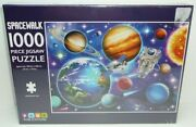 Spacewalk Jigsaw Puzzle 1000 Pieces Astronaut Space Station Planets Stars Iss