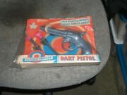 1950s/1960s Reliable Toy -clicker Trigger Dart Pistol-original Package-canada