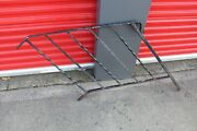 Vintage Wrought Iron Metal Fence Railing Architectural Garden Accent 4a
