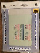 Microscale Decal N Scale 60-4285 Union Pacific 40' And 45' Trailers Nip