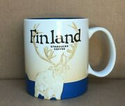 Starbucks Global Icon Discontinued Collectible Mug - Finland -- Never Used