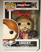 Ed Gale Horror Actor Signed Autographed Childs Play 2 Funko Pop Figure W/proof