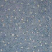 Lot Vintage Stars On Blue Cotton Quilting Fabric Blender Usa 10 Yards Free Ship