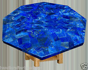 30 Blue Marble Coffee Table Top Lapis Lazuli Inaly Home Decorative Arts H2029b