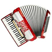 Close To New Horch Superior 120 Bass Made In Germany Piano Accordion Case 1492