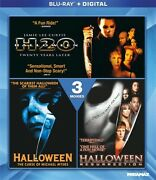 Halloween 3-movie Collection Blu-ray H2o + Resurrection + Curse Of Michael Myers