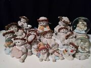 Dreamsicles Collectable Figures 1990and039s-2000 Westland Figures Snow Globe Angel
